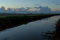 Early Morning_Irrigation Canal_Vermilion Parish_Kelly Morvant Photography_10-12-14-7634